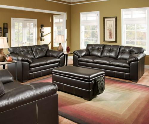 Premier Sofa & Loveseat Special (Leather)
