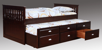 B3040 EXPRESSO CAPTAINS BED